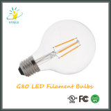 G25/G80 estilo global de Edison del bulbo del filamento del ahorro de la energía LED