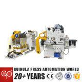 オートメーション機械NCサーボストレートナの送り装置およびUncoilerドイツおよび日本技術によって使用する