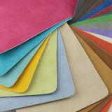 Cuero sintetizado del sofá de los muebles del PVC de la PU de la alta calidad de moda (F8001)