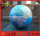 Balão de globo inflável para globo terrestre de balão de hélio para exibição