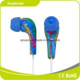 전화 Accessoriese를 위한 3.5mm 이동 전화 입체 음향 이어폰
