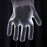 Grado medico dei guanti dell'esame del polietilene imballato in casella