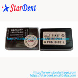borne dental da fibra de vidro de 6PCS/Box Nordin (GLASSIX RADIOPAQUE)