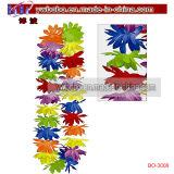 Arco-íris havaiano Leis floral do partido do produto do partido Aloha (BO-3008)
