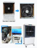 Geräuschlose bewegliche Verdampfungsluft-Kühlvorrichtung mit Luftkühlung-Ventilator
