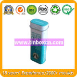 Nahrungsmittelgrad-rechteckiger tadelloser Zinn-Kasten, Gummi-Blechdose