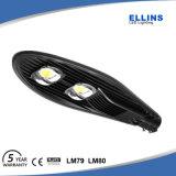 IP65 50W 60W 100W COB Lampadaire à LED solaire Bridgelux