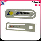 L'acciaio inossidabile di alluminio di alta qualità personalizza il segnalibro del metallo