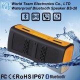 Bewegliche IP67 imprägniern mini drahtlosen Bluetooth Lautsprecher
