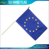 플라스틱 폴란드 (NF01F03013)와 가진 Eco-Friendly 인쇄된 폴리에스테 손 깃발