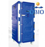 600L Roto moldeado de refrigeración de almacenamiento en frío Caja Enfriador Aire acondicionado Display Box