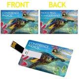 Hot Marketing Card 3.0 avec vos logos Imprint dans le lecteur de cartes mémoires flash USB à deux faces