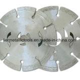 4-pulgada en seco o húmedo de corte general Saw Propósito de alimentación segmentada de diamante Las hojas de piedra de mampostería de hormigón y ladrillos