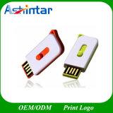 Привод вспышки USB пластмассы водоустойчивой ручки памяти USB миниый