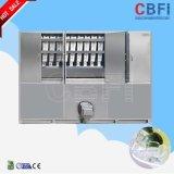 Cbfi新しいデザインステンレス鋼の産業角氷機械