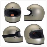 Capacete da fibra de vidro do motocross da face cheia para a motocicleta