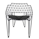 Moderner Draht-Aufenthaltsraum-Stuhl für Garten-Möbel Oz-IR1045