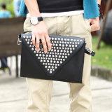 Retro Wellen-Niet-beiläufige Beutel-Handtasche