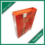 ふたが付いている折る出荷によって波形を付けられる包装ボックス