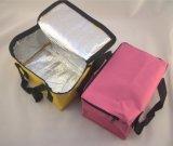 La bolsa de asas laminada PP no tejido bolso de compras, bolso del refrigerador de Promoción