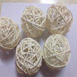طبيعيّ [رتّن] أثاث لازم قصب عصي بالجملة مع كرة مستديرة