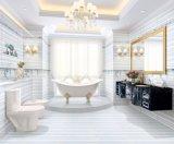 Azulejo de cerámica de la pared del color azul del material de construcción 300X600 para el cuarto de baño