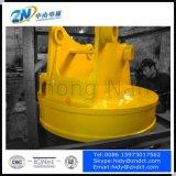 Magnete di sollevamento dell'escavatore per gli scarti d'acciaio