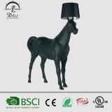 [2017مودرن] يقف سوداء حصان حجر السّامة [فلوور لمب] لأنّ [هوتل/] [رسبأيشن رووم] مشروع