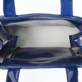 Bolso de compras azul impermeable tamaño pequeño del PVC (A0122)