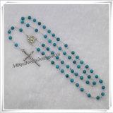 Металл нового типа популярный европейский отбортовывает вероисповедного католика Rosary (IO-cr358)