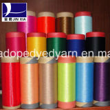 400d/144fポリエステルフィラメントヤーンドープ塗料によって染められるDTY