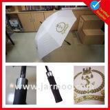Publicidade 32 'Inch 8k Fiberglass Double Layer Golf Umbrella