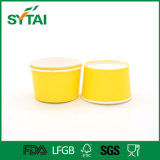 cuvette de papier d'usage à application unique de nourriture de 12oz/14oz/16oz Frzen pour la cuvette de yaourt