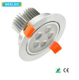 alta calidad blanca fresca LED Downlight de Dimmable de la luz del punto 5W
