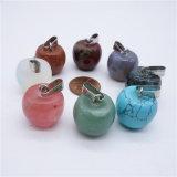 Mulit 색깔 자연적인 주옥 돌 Apple 모양 목걸이는 펜던트를 매혹한다