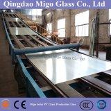 vidrio Tempered claro adicional del panel solar de 3.2m m con Ce/TUV/SGS