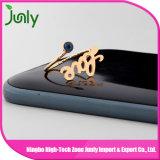 El último anillo de dedo popular del oro diseña el anillo de compromiso