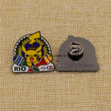 Förderung-kundenspezifische harte Decklack Pikachu Rio 2016 olympisches Abzeichen