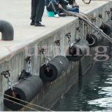 Cilíndrico de caucho defensas de barco de goma Fender