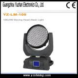 Lumière mobile de lavage de la tête DEL d'étape de DMX 108PCS 3W