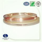 La bande bimétallique de cuivre argentée a produit par technique à laminage à chaud