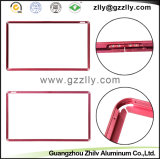 Perfil de aluminio de oro Accesorios Marco de TV para material de construcción