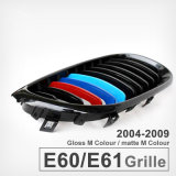 De voor Glanzende Zwarte Grill van het Traliewerk van de Nier van de Kleur van M Brede voor BMW 5 Reeks E60 525li 530I 523 528I 520I 2004-2009