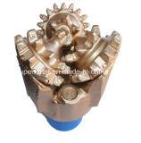Morceau de roche tricône de dent en acier supérieure du puits d'eau 7 1/2 «