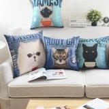Cuscini generici stampati del cotone del quadrato da 18 pollici decorativi