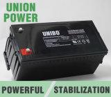 Sistema solar Long Life Deep Cycle AGM Bateria de ácido-chumbo UPS 12V200ah Bateria solar