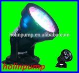 Lumière Hl-5LED01 de transitoire de jardin de la haute énergie 3X1w DEL de qualité