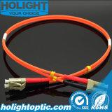 LC à LC Om1 ou Om2 Duplex Multimode Fiber Optic Patch Cable