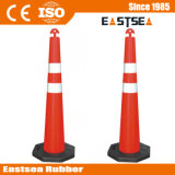 Reciclado de segurança rodoviária Delineator T-Top Stacker Channelizer Cone
