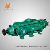 Bomba centrífuga de vários estágios com impulsores opostos para uso em mineração